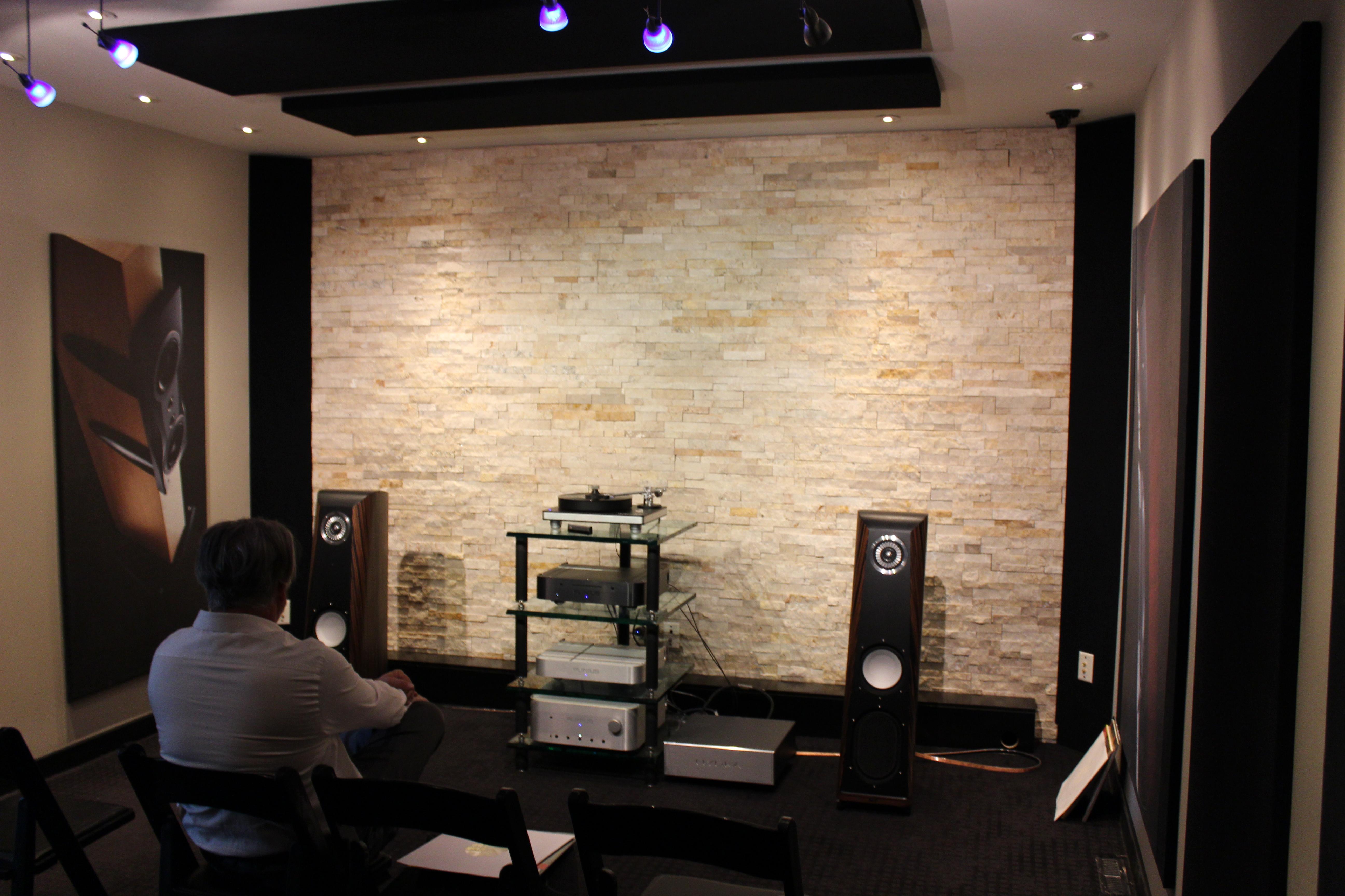Here, we listened to the CS2.7's in Hanson AV's smaller demo room.