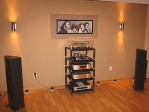 Midiverb's listening room