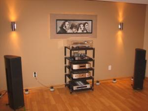 Midiverb's listening room