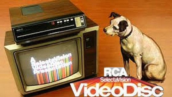 Nipper with SelectaVision
