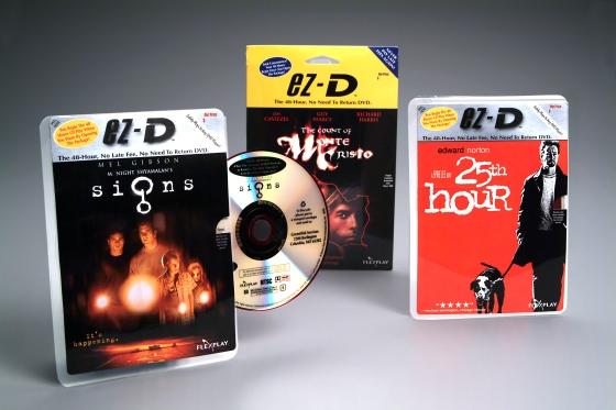 Flexplay discs