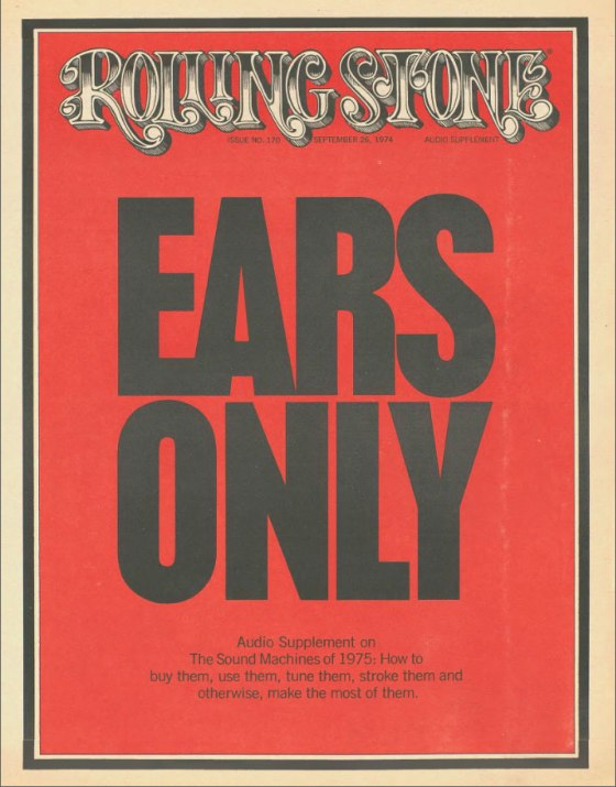 RS Ears Only I 1974