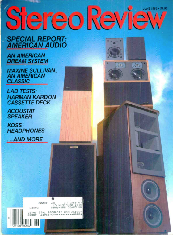 Stereo Review June 86